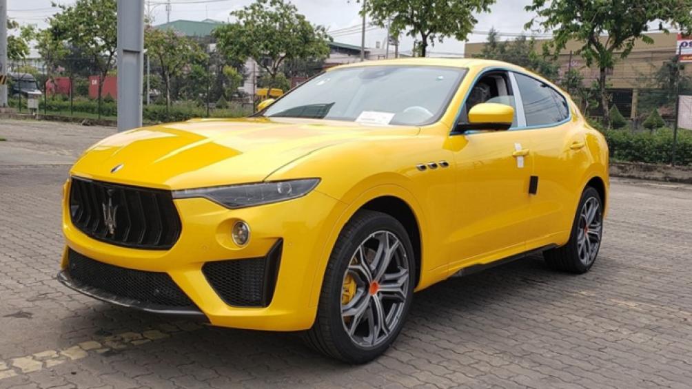 """Maserati Lavante là mẫu SUV đầu tiên trong gia đình """"cây đinh ba"""" nước Ý"""
