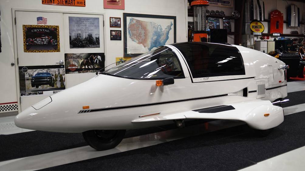 Sẽ chỉ có khoảng 360 chiếc Pulse Autocycle được chế tạo từ năm 1984 – 1990 trên toàn thế giới