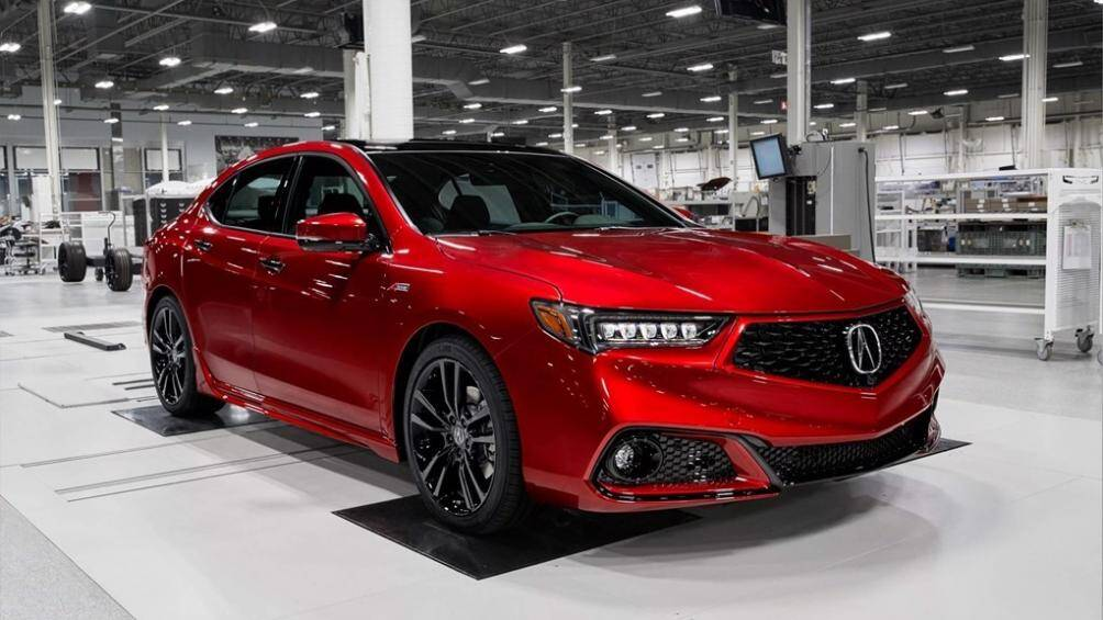4. Acura TLX