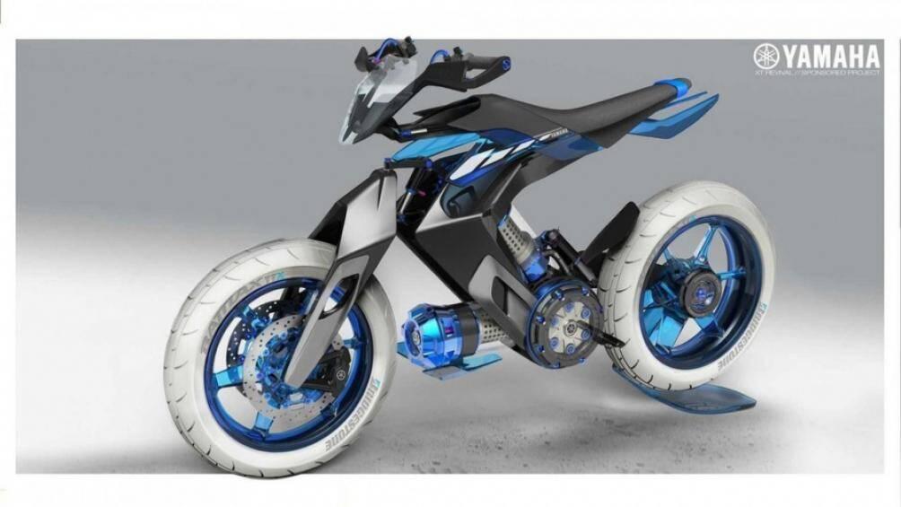 Mới đây, các hình ảnh mẫu xe ý tưởng mang tên Yamaha XT500 H20 2025 vừa được công bố