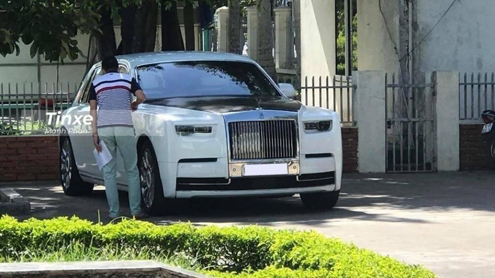 Chiếc xe siêu sang Rolls-Royce Phantom Tranquillity đầu tiên về Việt Nam đã bị bắt gặp tại Thanh Hoá