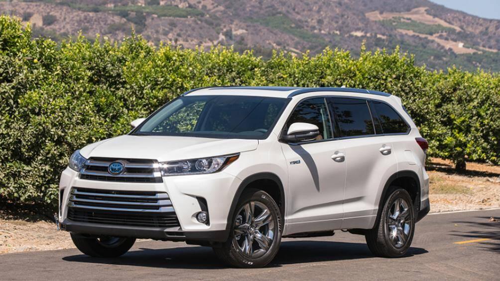 1. Toyota Highlander (18,5% số người sử dụng từ 15 năm trở lên)