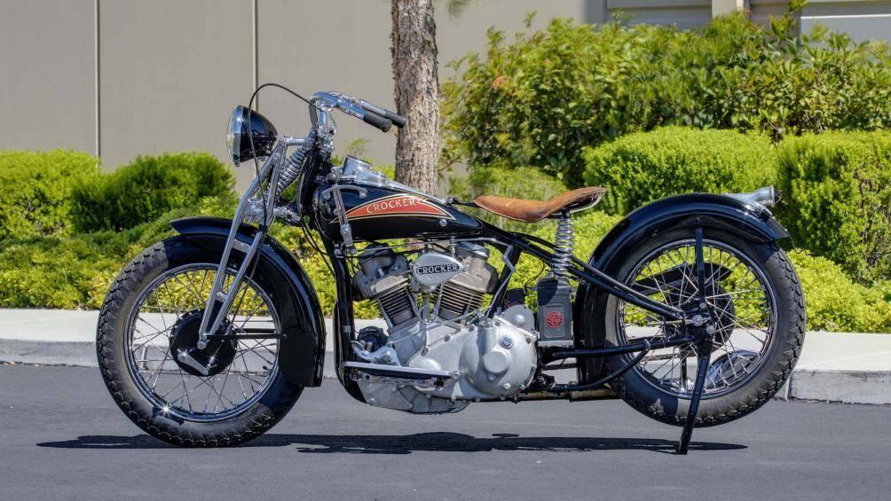 Chỉ có 72 chiếc Crocker V-twin được sản xuất trong một giai đoạn ngắn của thế kỷ trước, vì vậy không ngạc nhiên khi nó có giá bán 350.000 USD