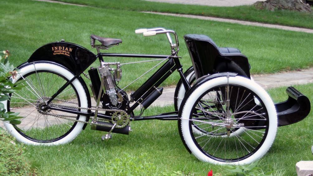 Indian Tri-Car Sedan Chair 1907 với độ tuổi, sự khan hiếm và nguyên bản của nó đã được bán với giá 165.000 USD