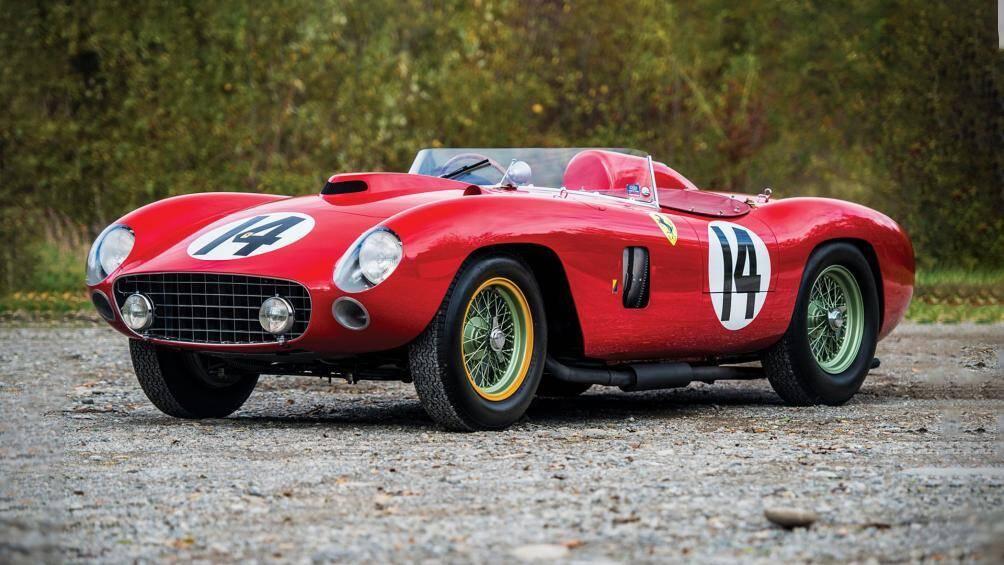 5. Ferrari 290 MM 1956: Mẫu xe đua cổ này được bán vào tháng 12/2015 với giá 28,050 triệu USD (khoảng 651 tỷ đồng)