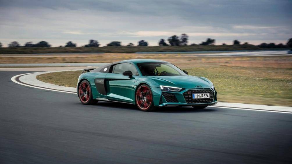 """Audi mới đây đã tung ra một biến bản sản xuất giới hạn mới của siêu xe R8 có tên gọi là """"Green Hell"""" (Địa ngục xanh) với số lượng sản xuất 50 chiếc"""