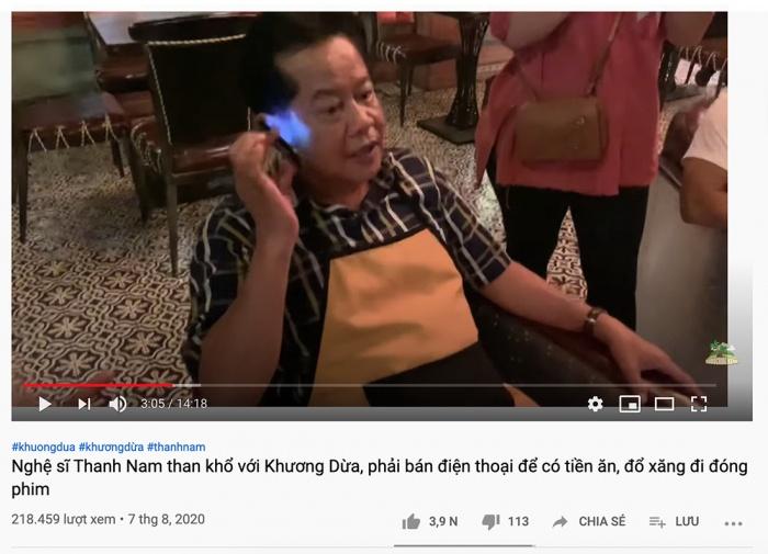 Sự thật NSND Thanh Nam khó khăn đến mức bán điện thoại để ăn, đổ xăng xe? 2