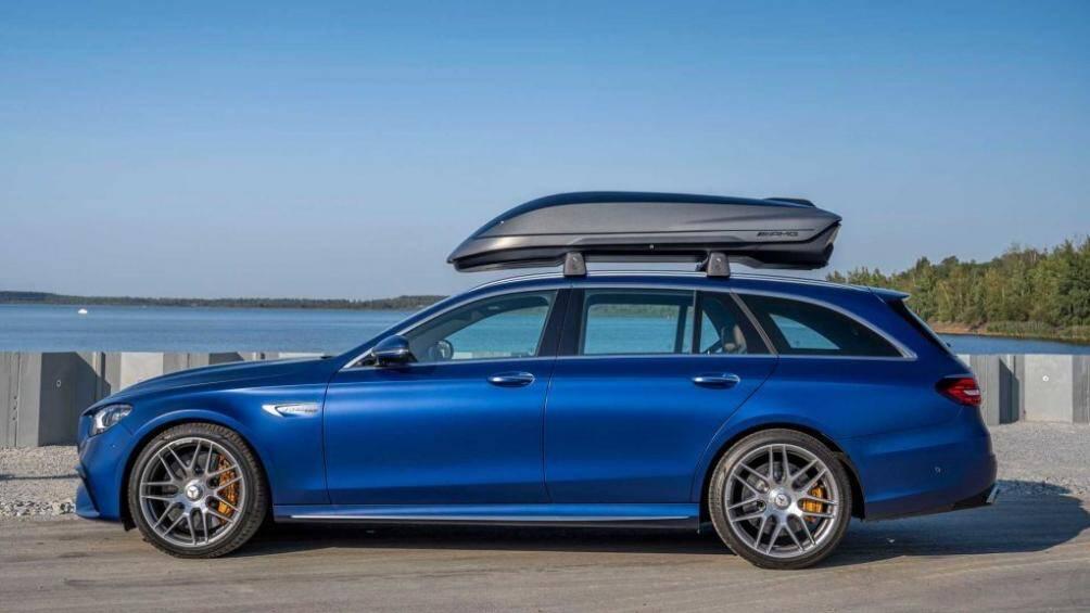 Mercedes-Benz vừa qua đã cho ra mắt cốp phụ nóc xe mới dành cho một số dòng xe vô cùng tiện lợi cho việc đi lại hàng ngày