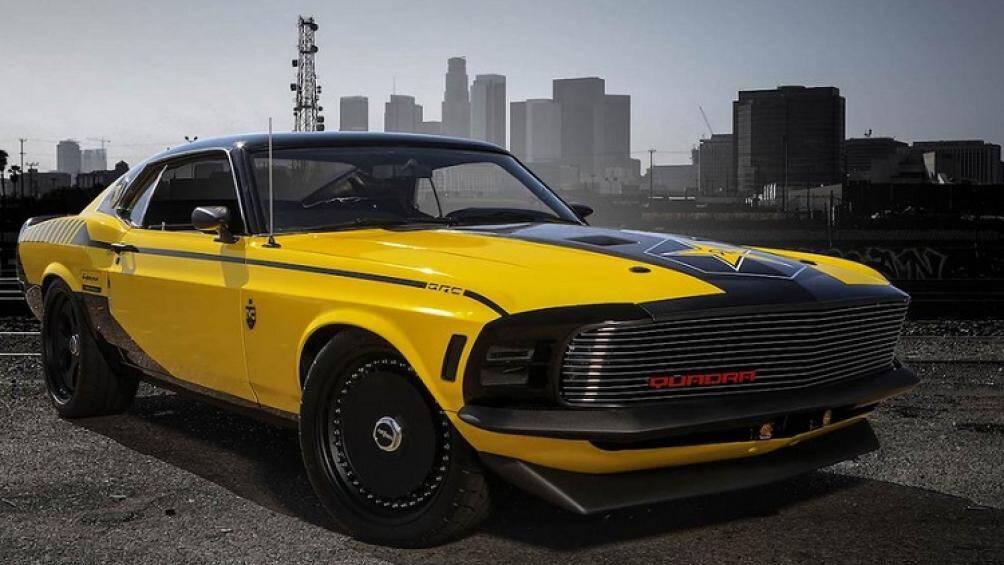 Rockstar Energy Drink kết hợp với CD Projekt để tạo ra chiếc Ford Mustang độc nhất vô nhị trên thế giới