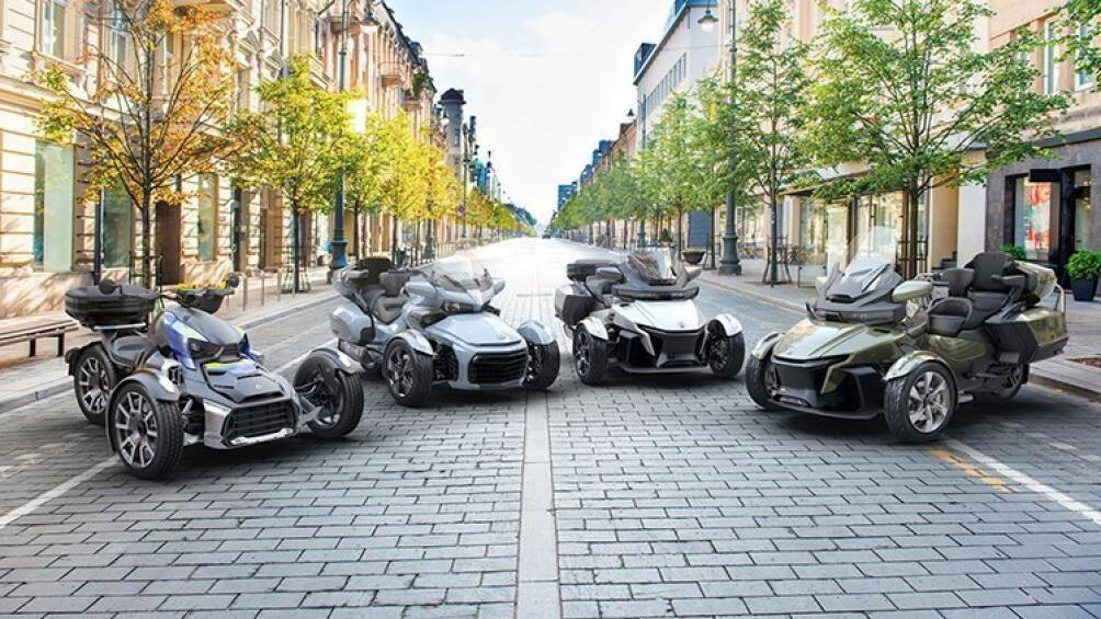 Trong dòng sản phẩm mới, hãng xe mô tô Can-Am tập trung vào hai mẫu xe Ryker và Spyder nhằm mang đến làn gió mới ở phong cách của hai mẫu xe này