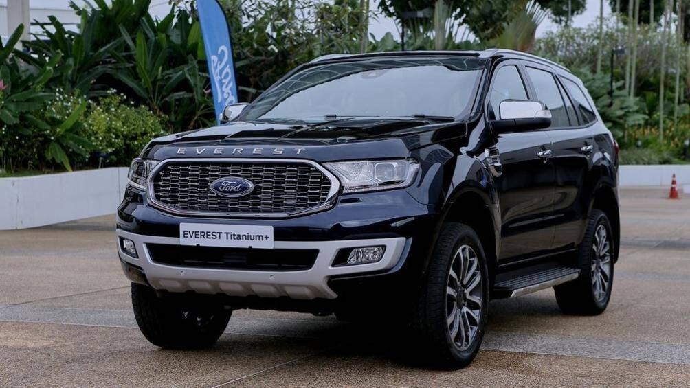 Hãng Ford đã chính thức vén màn phiên bản nâng cấp của dòng SUV cỡ trung Everest tại thị trường Thái Lan