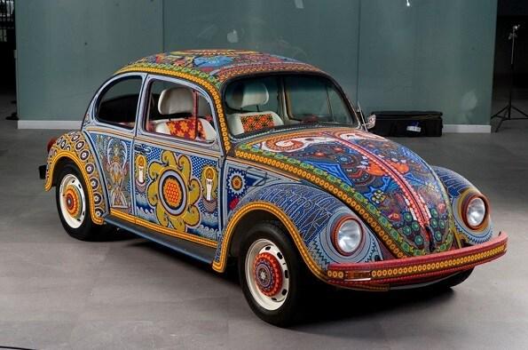 Chiếc Volkswagen Beetle đời 1990 là sản phẩm hợp tác của một số tổ chức nhà nước và tư nhân