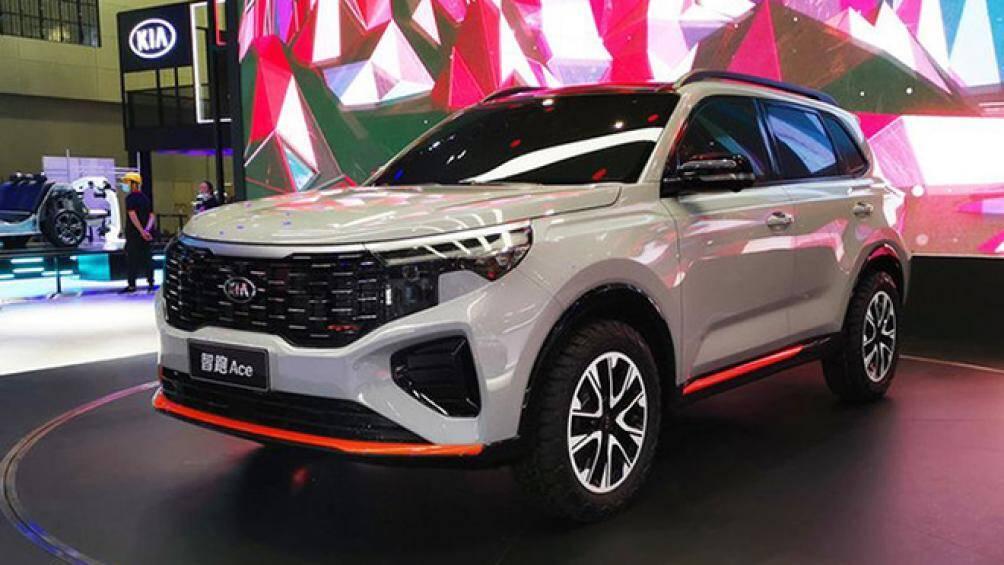 Kia Trung Quốc vừa công bố phiên bản Sportage mới có tên Ace tại triển lãm Quảng Châu với nhiều đường nét pha trộn giữa Seltos và Sorento