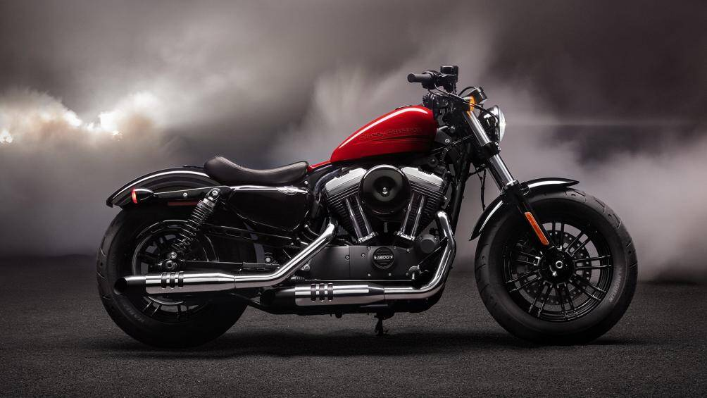 1. Harley Davidson Forty Eight
