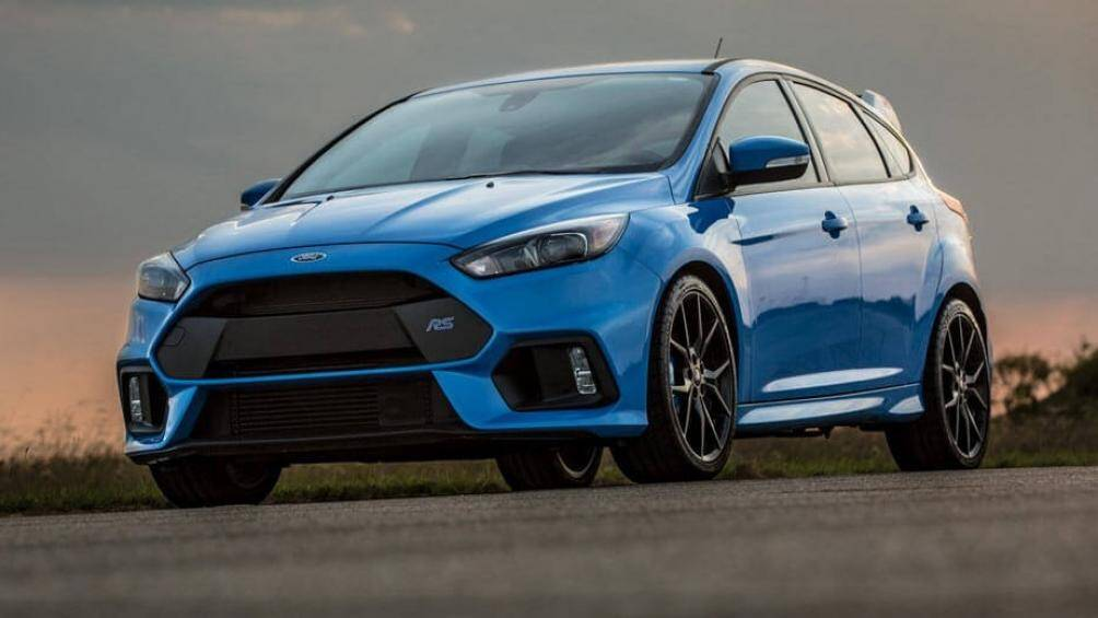 4. Ford Focus RS