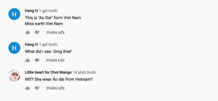 Đại diện Trung Quốc mặc áo dài truyền thống Việt Nam thi Miss Earth?