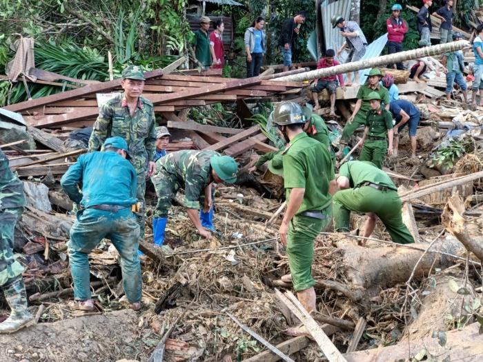Cập nhật cứu hộ tại Trà Leng:Chạy đua với thời gian tìm người mất tích 2