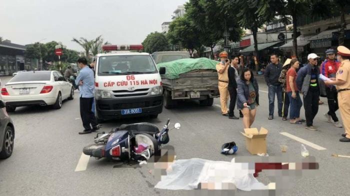 Nữ sinh đi xe máy điện tử vong thương tâm sau tai nạn với xe tải 1