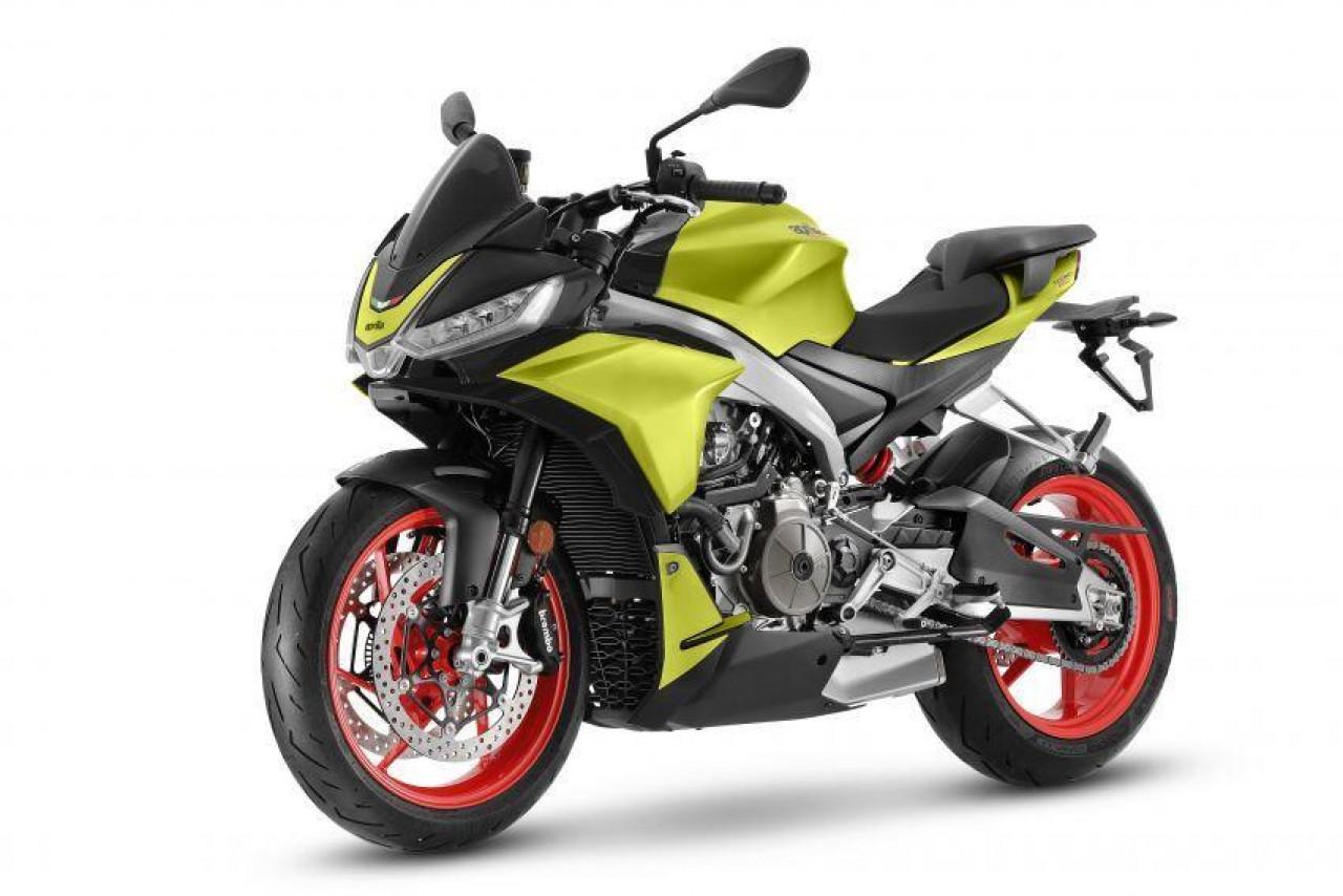 Cận cảnh mẫu naked sport bike Aprilia Tuono 660 vừa ra mắt