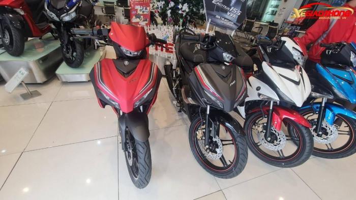 Mở bán tại đại lý, Yamaha Exciter 155 tăng giá mạnh 1