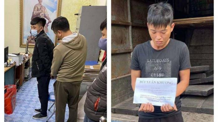 Bắt 2 thanh niên vận chuyển ma túy trên cao tốc Hạ Long - Hải Phòng 1