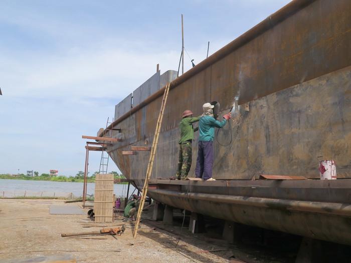 hàng loạt xưởng đóng tàu bị từ chối đăng kiểm, vì sao?