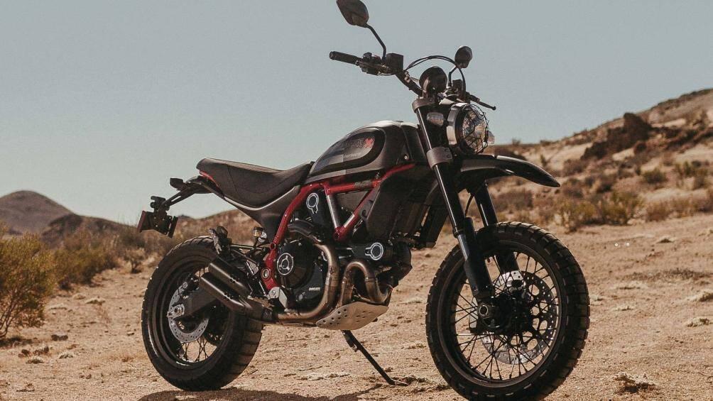 1. Ducati Scrambler Desert Sled Fasthouse