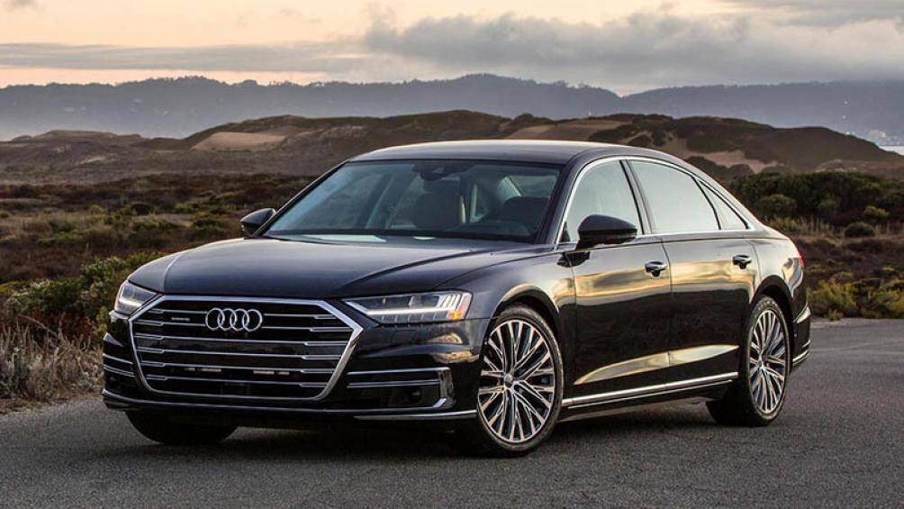 5. Audi A8 2021 (giá khởi điểm: 87.545 USD)