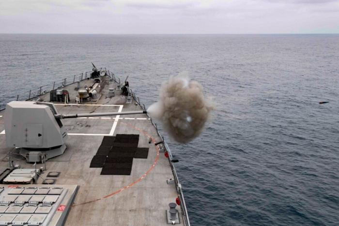 Tình hình Biển Đông mới nhất: Mỹ điều tàu khu trục Rafael Peralta 1