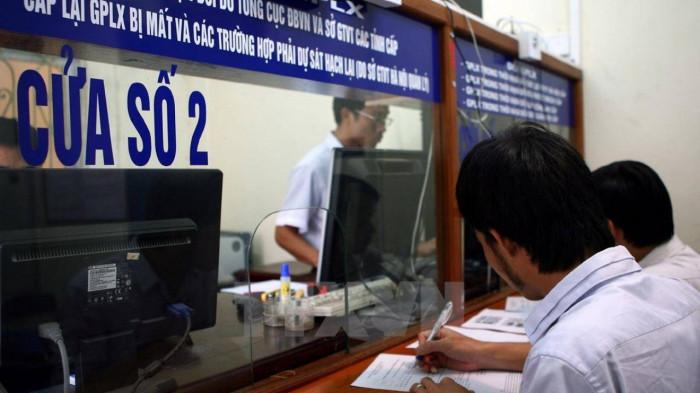 Chi phí và thủ tục đổi giấy phép lái xe ô tô mới nhất 1