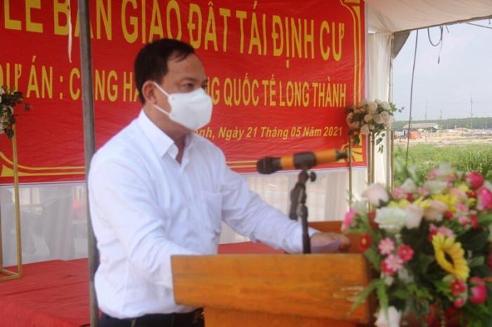 Đồng Nai bàn giao đất tái định cư sân bay Long Thành cho dân làm nhà