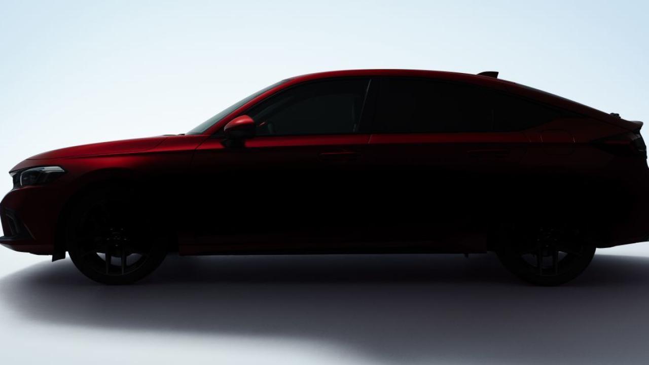 Lộ diện Honda Civic 2022 hatchback sắp ra mắt 1