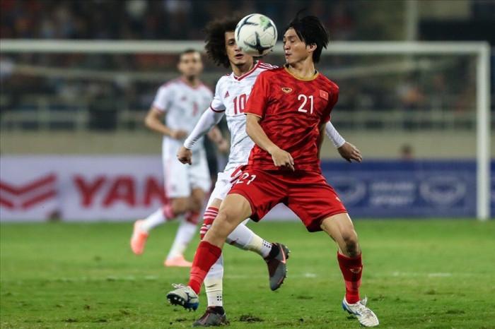 Dự đoán kết quả: UAE 1-1 Việt Nam