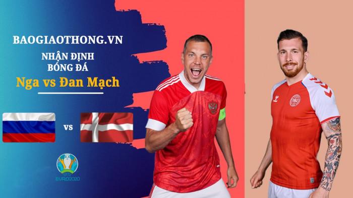 Nhận định Nga vs Đan Mạch