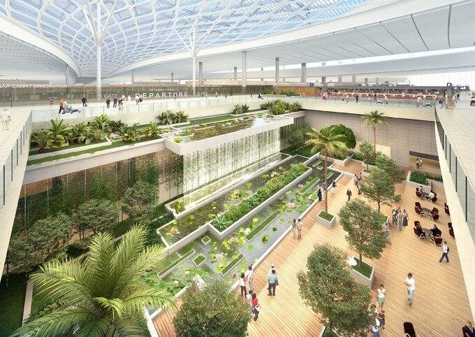 """""""siêu sân bay"""" long thành đang triển khai xây dựng thế nào?"""