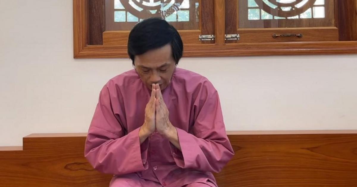 Hoài Linh cúi đầu xin lỗi, không lường trước sự khó khăn trong từ thiện - Baogiaothong.vn