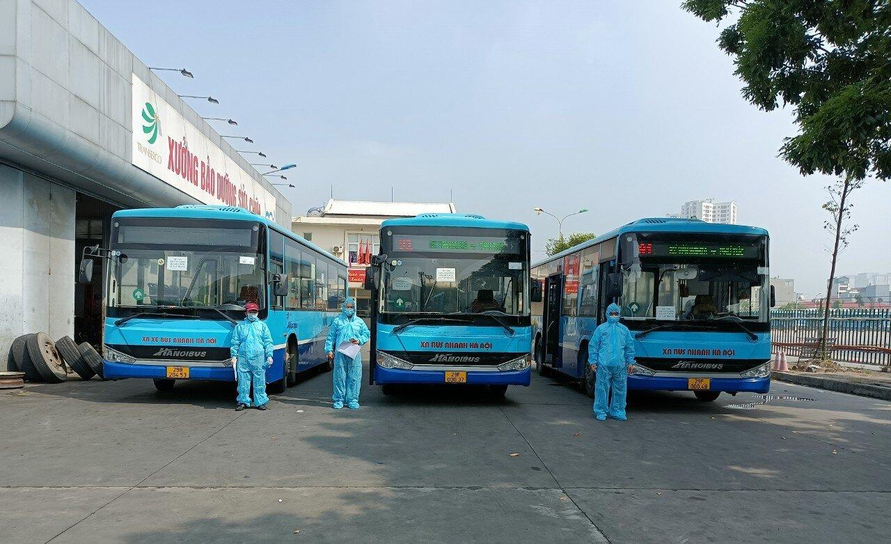 Trung tâm Quản lý và điều hành giao thông công cộng thành phố Hà Nội vừa phối hợp với Bộ Tư lệnh Thủ đô, Transerco xây dựng phương án vận chuyển công dân F1 đi cách ly tập trung và vận chuyển công dân hết thời gian cách ly về các địa phương.
