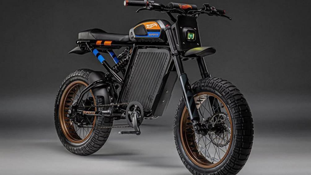 Hot Wheels vừa bắt tay cùng với nhà sản xuất xe điện tại Mỹ mang tên Super73 cho ra mắt mẫu xe điện mang tên Hot Wheels X Super73-RX 2021