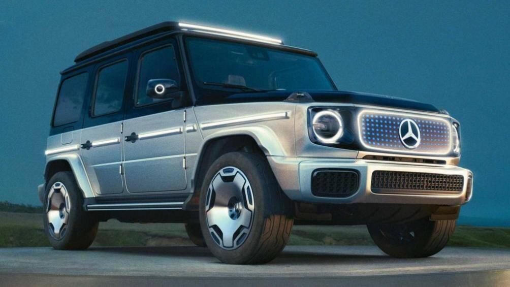 Mercedes-Benz EQG Concept (xe ý tưởng) đóng vai trò như một phiên bản giúp khách hàng hình dung về mẫu xe G-Class chạy điện thế hệ mới sắp được sản xuất