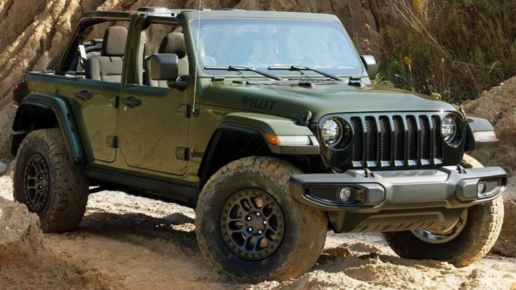 Tại sự kiện Detroit 4Fest diễn ra vào cuối tuần trước, Jeep đã gây bất ngờ cho nhiều người tham gia sự kiện khi mang đến đây một chiếc Wrangler đặc biệt