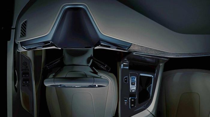 Lộ diện nội thất Hyundai Custo với cần số nút bấm giống SantaFe 11