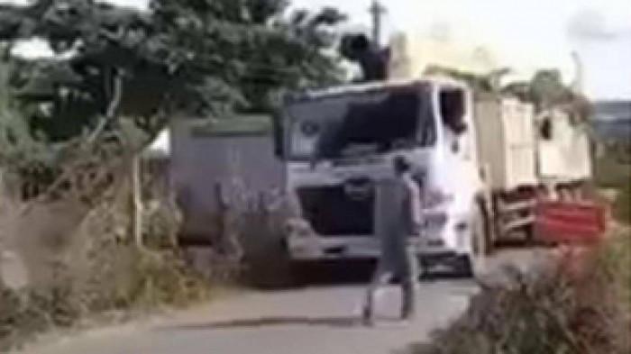 Trưởng phòng CSGT bị kiểm điểm vì thuê xe chở cây khủng đi vào đường cấm 2