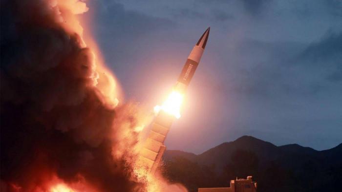 Triều Tiên bất ngờ tuyên bố đã bắn tên lửa hành trình tầm xa mới -  Baogiaothong.vn