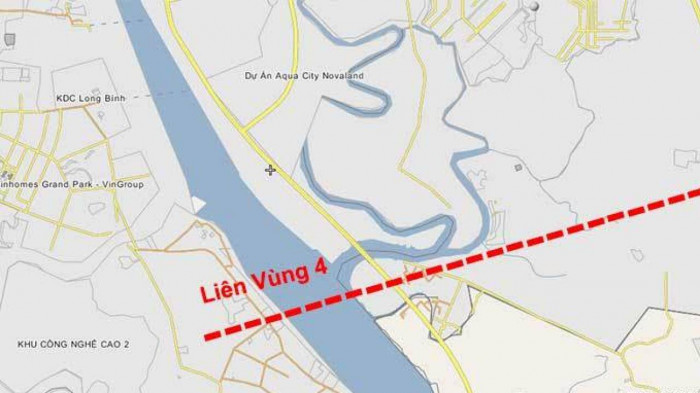 Phác thảo hình hài cao tốc Biên Hòa - Vũng Tàu 3